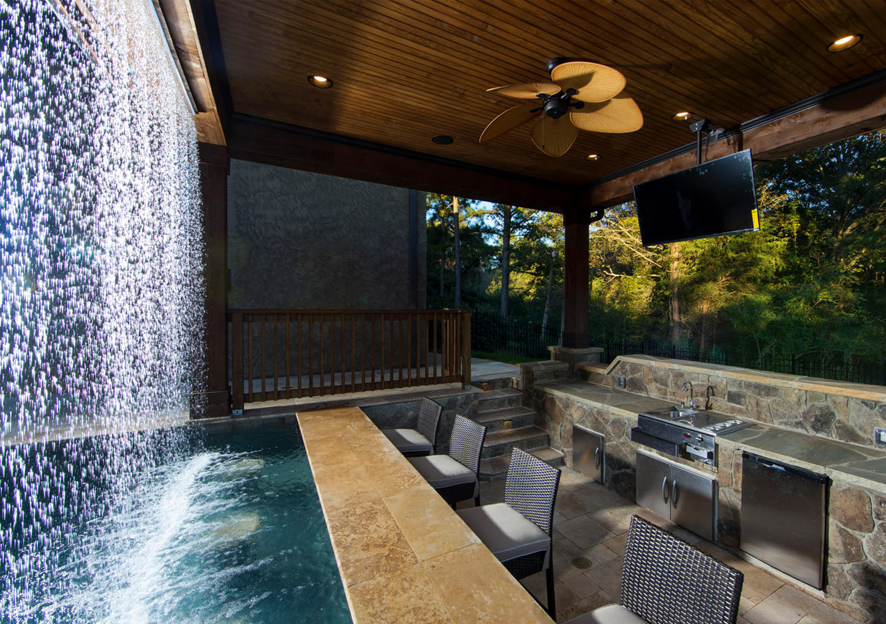 Spa design  Charlotte, NC Poolscapes, Custom Pool and Spa Designs