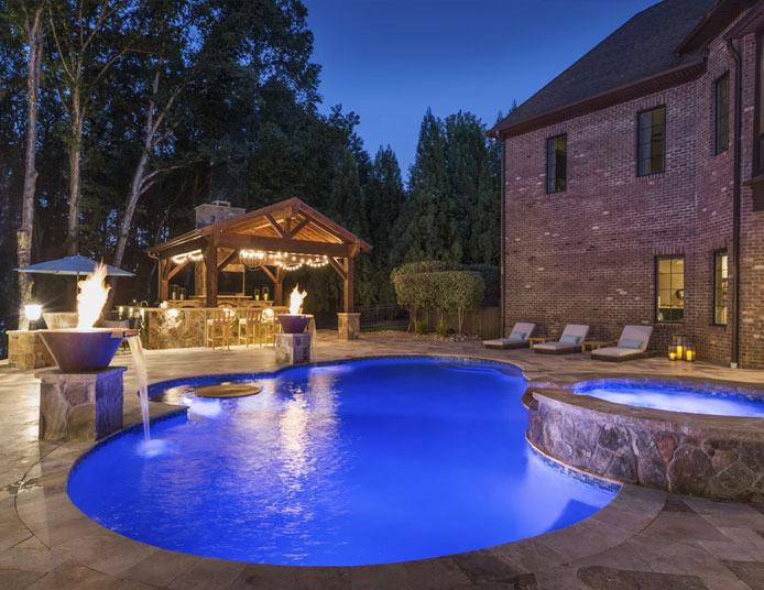 Charlotte, NC Poolscapes, Custom Pool and Spa Designs